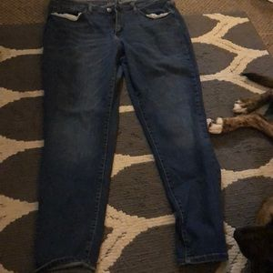 Universal Thread Plain blue skinny jeans